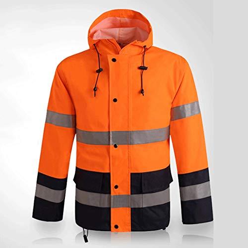 YAYA veiligheidsvest reflecterende kleding paardrijden buitenshuis waterdichte regenjas fluorescerende reflecterende veiligheidsseizoen overalls veiligheidsvesten