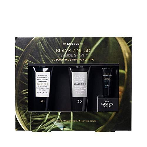 Korres - Black Pine 3D Mini Trio Collection Set - Geschenkset
