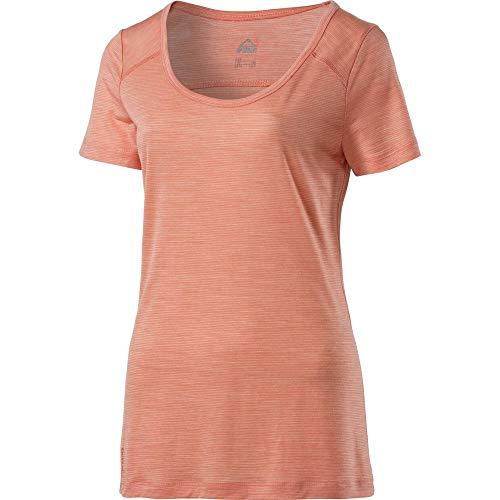 McKINLEY T- Shirt Aramac Femmes, Red Light/White, 40