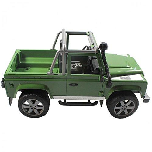 bruder Land Rover Defender Pick Up 1:16 Spielzeug Auto Kinder Wagen Weihnachten