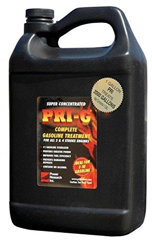 Power Research PRI-G 1 Gallon Gasoline Treatment For E-10 and All Gasoline Grades , Case of 6