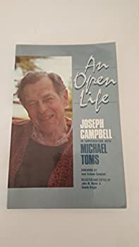 Paperback An open life: Joseph Campbell in conversation with Michael Toms Book