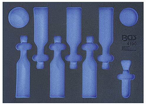BGS technic BGS 4190-1 - Inserto per carrello da officina 3/3, vuoto, per birra, chip, arachidi e apribottiglie