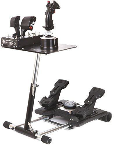 Wheel Stand Pro DELUXE V2, support pour joystick Thrustmaster HOTAS WARTHOG, Saitek X55 / Saitek X52