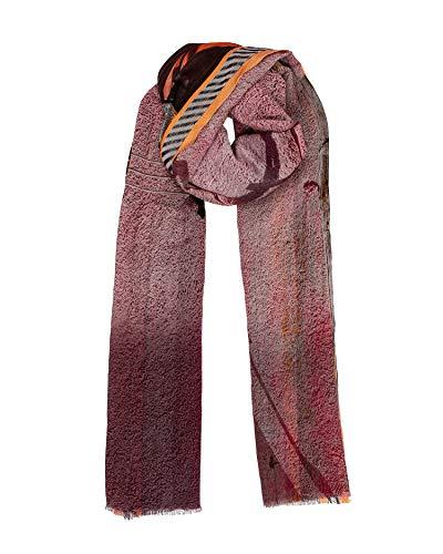 Becksöndergaard Veneera Como - Bufanda de algodón para mujer, diseño estampado, 100 x 200 cm, multicolor