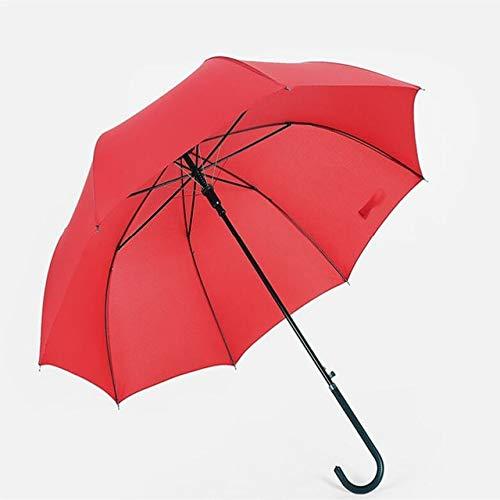 ZGMMM Zon Paraplu Vrouwen Rood Festival Gift Parasols Zonnig En Regenachtige Paraplu Black Handle