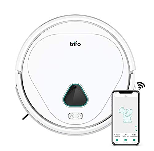 Trifo Max Robot Vacuum Cleaner, with AI Powered Home Surveillance, Video Recording, Mobile App Control, Alexa-Enabled Dining Features Kitchen Robotic Vacuums