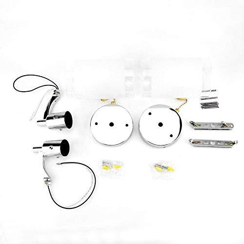 Omabeta Práctico Aplique de Pared Moderno Multifunción para Comedor Bombillas E26