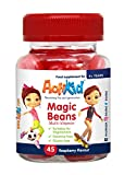 ActiKid Magic Beans Multi-Vitamin 45x Raspberry Flavour, Gelatin free, Children's vitamin