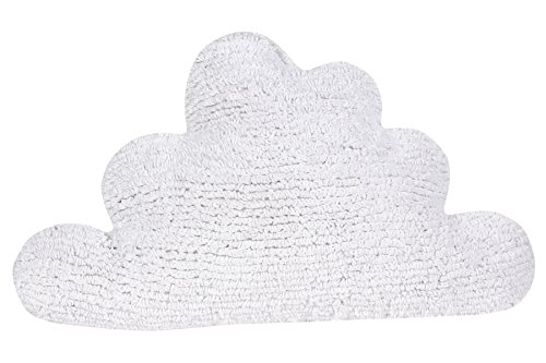 Happy Decor Kids hdk-cu-cl-wh Coussin lavable Cloud, blanc, 30 x 50 cm