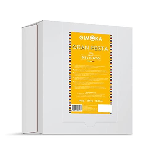 Gimoka - Capsule Compatibili Lavazza Espresso Point, Gusto, 50 Capsule, Gran Festa Delicato