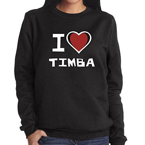 Felpa da Donna I love Timba
