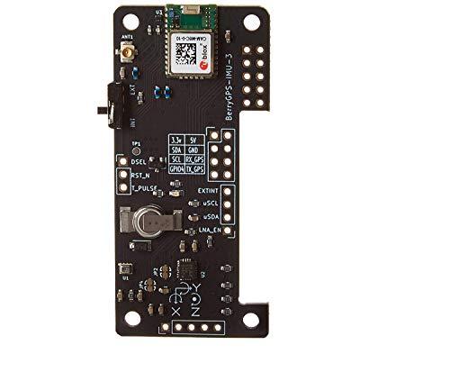 BerryGPS-IMUv3 GPS und 10DOF für Raspberry Pi, Beschleunigungsmesser, Gyroskop, Magnetometer und Barometrischer / Höhensensor