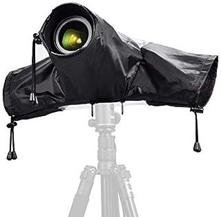 Zecti Protectores contra La Lluvia para Cámaras, Funda Impermeable para Proteger cámaras réflex de la Lluvia Protector Prueba de Lluvia para Canon Nikon Sony Olympus Fuji Pentax Panasonic DSLR Cámara