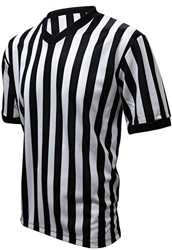 PRO FIT Official Referee Jersey Short Sleeve Shirt (Adult Large)
