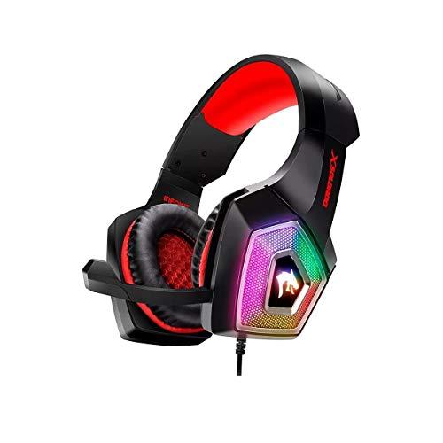 Headset Gamer xSoldado GH-X2000 RGB PC/PS4/CELULAR (Vermelho)