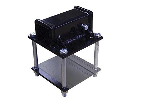 Swagman RV Bumper Adapter, Black, 2-Inch