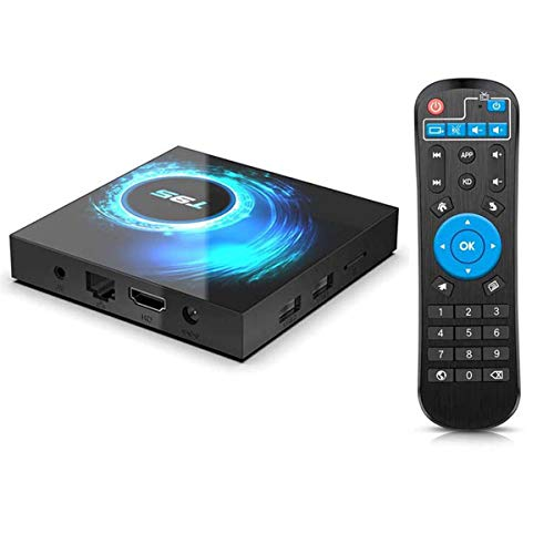 HFJ&YIE&H Android TV Box, T95 Android 10.0 TV Box 2GB RAM/16GB ROM Allwinnner H616 Quad-Core Support 2.4Ghz WiFi 6K HDMI Smart TV Box