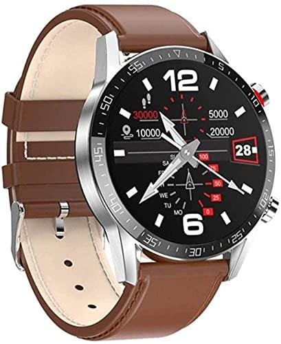 Reloj inteligente para hombre ECG + PPG ritmo cardíaco IP68 impermeable Bluetooth llamada smartwatch para Huawei Xiaomi Samsung IOS-B