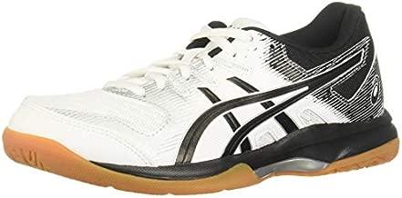ASICS Women's Gel-Rocket 9 Volleyball Shoes, 7.5, White/Black
