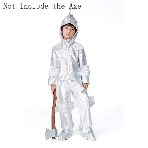 Deluxe Zauberer von OZ Tin Man Kostüm Kinder Erwachsene Halloween Märchen Performance Party Cosplay Jungen Mädchen Kostüm Outfit M Boy 2