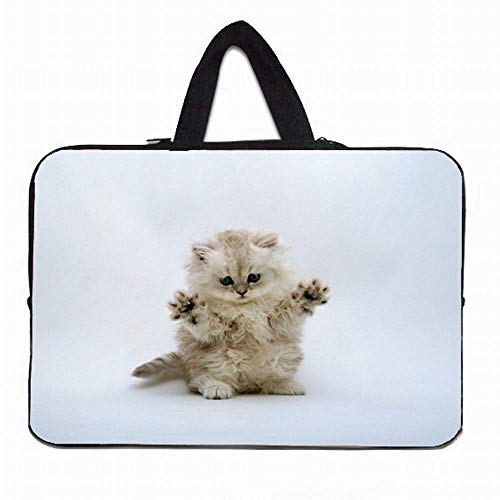DENGDENG Funda Portatil 15.6 Bolsa Neopreno 10 12 13 14 15 17 Laptop Carry Bag Case para Huawei Sony Vaio HP Envy 14 Chuwi Lapbook MacBook-Estilo 1_10 Pulgadas 27 * 21 cm