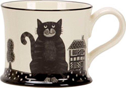 Chat du Cheshire Moorland Pottery Mug