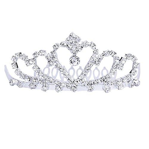 winomo bridal tiara crown headband