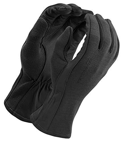 Pentagon Hommes Long Cuff Pilot Gants Noir Taille XXL