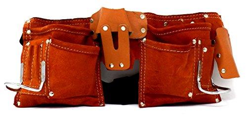 IIT 91112 7 Leather Pocket Toolbelt