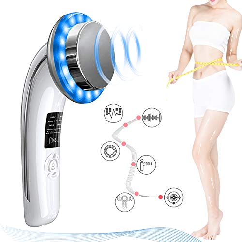 Lose Fat Machine 6 in 1 Weight Loss Machine EMS Massage Machine Fat Remover Positive and Negative Ion Tender Skin Abdomen Arm Leg Buttock Weight Reducer Facial Skin Tightening Care