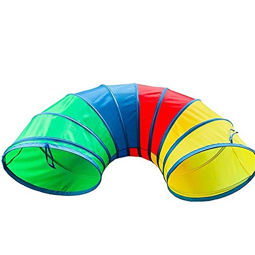 Best Price Sviper Kids Play Tunnels Small Curved Passage Pop-up Play Tunnel Children Kids Cats Dogs ...