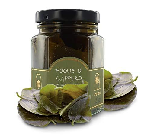 Kapernblätter in Natives Olivenöl Extra 100g
