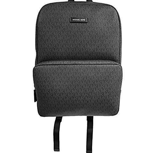Michael Kors Men's Jet Set Front Pocket Backpack, Black