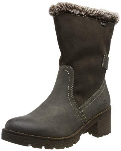TOM TAILOR Damen 7991601 Hohe Stiefel, Grau (Coal 00013), 41 EU