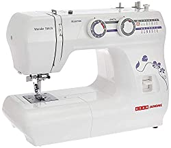 Usha Janome Wonder Stitch Automatic Zig-Zag Electric Sewing Machine (White),Usha,Usha Janome Wonder Stitch