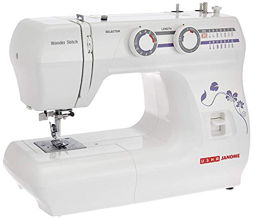 Usha Janome Wonder Stitch Automatic Zig-Zag Electric Sewing...