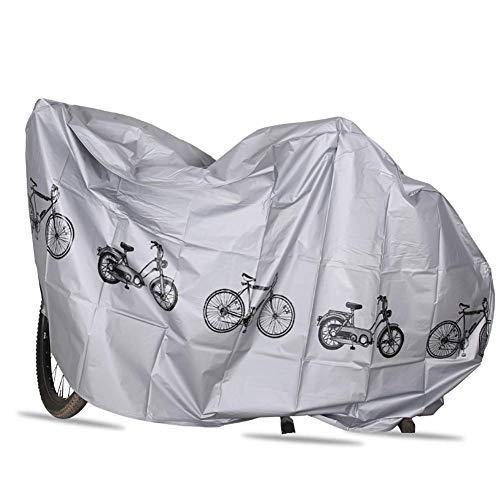 YUESEN Funda Bicicleta Exterior Impermeable - Cubierta Bicicleta con Tejido 210D Premium,...