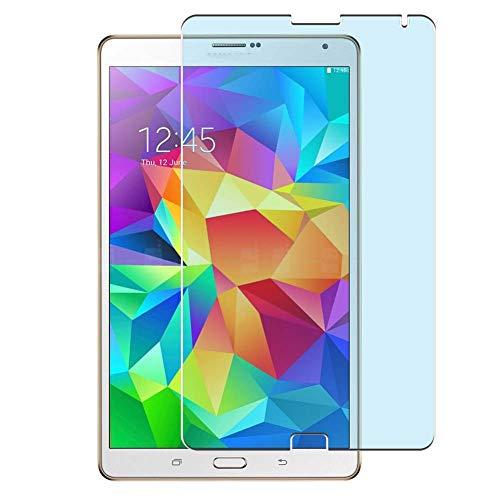 Vaxson 2 Stück Anti Blaulicht Schutzfolie, kompatibel mit SAMSUNG Galaxy Tab S t705 T700 8.4