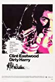 DIRTY HARRY – Clint Eastwood – US Imported Movie Wall