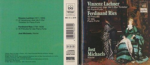 42 Variationen über die C-Dur Tonleiter für Piano-Forte / 40 Préludes für das Piano-Forte