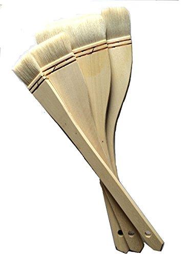 Chinesische Japanische Malerei Seehecht Pinsel set-goat Haar 3cm 5cm 9cm und 12cm