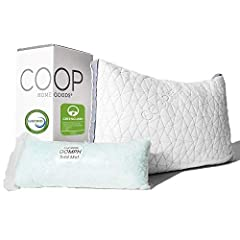 LOOK NO FURTHER, HOT SLEEPERS - Your search for the perfect adjustable pillow has come to an end. The Eden features our soft, gel-infused memory foam & microfiber fill blend for a cooler sleep experience and a gusseted design for edge-to-edge support...