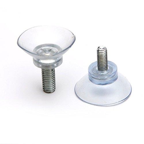 Ventosa de tornillo largo ajustable M8 para pies de silla y mesa de muebles, longitud de tornillo de 1,8 cm, diámetro de 3,5 cm, 5 piezas/paquete (M8-L1.8CM-D3.5CM)