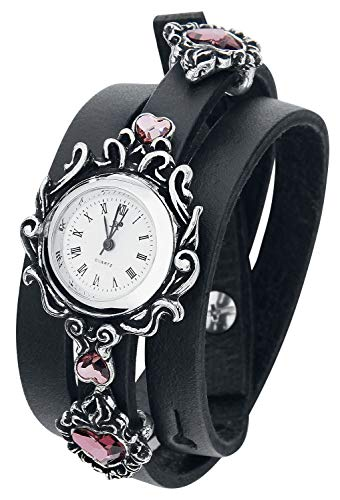 Alchemy Gothic AW24 Armbanduhr Edelstahl Silber