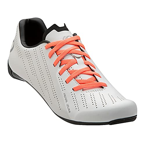 PEARL IZUMI Women's Sugar Road Cycling Shoe, White/White, 40.0