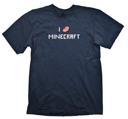 Minecraft T-Shirt I porkchop Minecraft, Größe XL