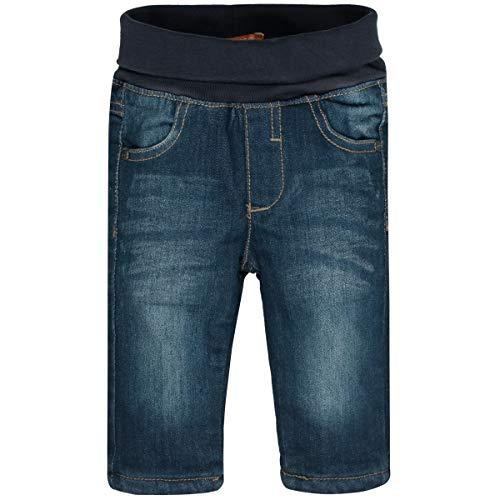 Staccato Unisex Baby Jeans | gefüttert, atmungsaktiv & weich | Regular Fit | Blue Denim 74
