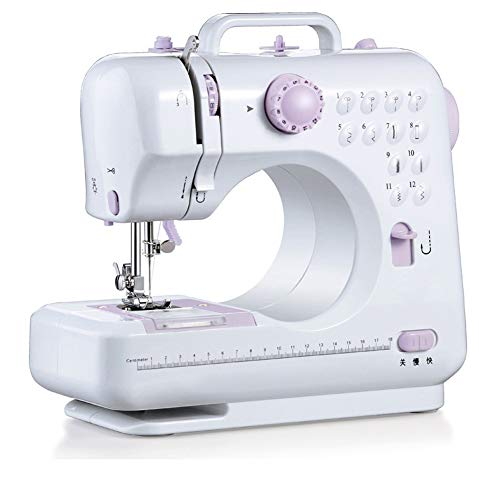 Great Deal! lzndeal Sewing Machine Parts,Compact Sewing Machine with 12 Stitch Patterns Foot Pedals ...