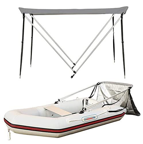 GKPLY Toldo para Botes, Tubo de aleación de Aluminio Toldo para Botes de 18 mm de Grosor Kayaks inflables Sombrilla con protección Solar Impermeable, Adecuado para Botes inflables Longitud 90-157',